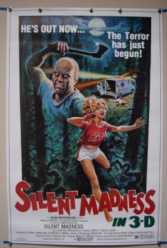 Silent Madness (1984) Horror Film Poster  - US One Sheet Poster